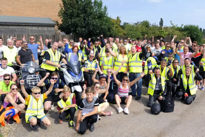 Phil's Ride raising money for East Anglian Air Ambulance