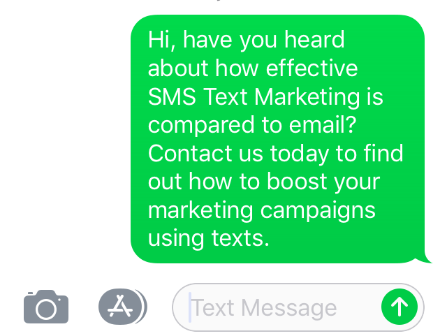 SMS Text Marketing with PA Answer