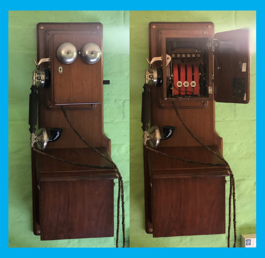 Telephone-ofthe-Month-the-Telephone-Answering-Service-Specialists-Vintage-Wall-Mounted-Telephone
