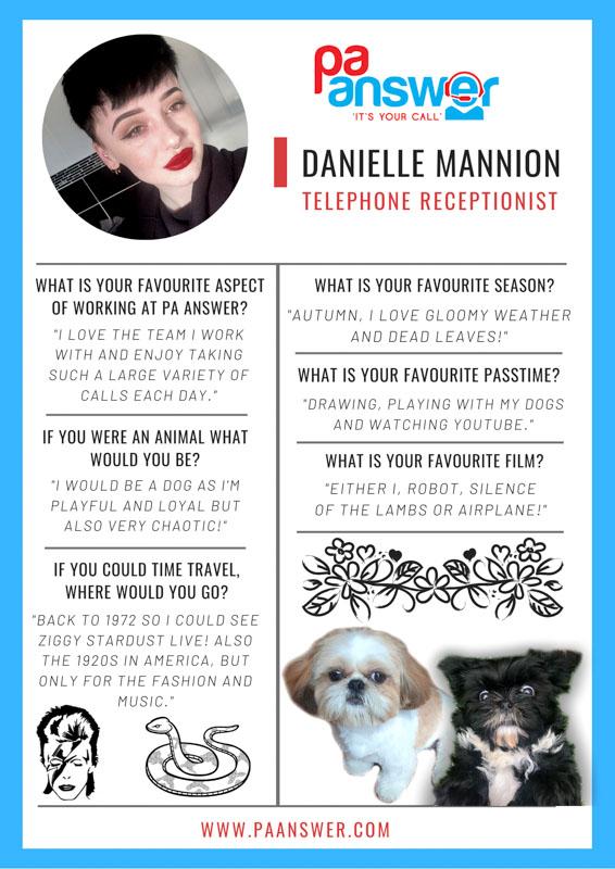 Danielle PA Answer Virtual Reception Team