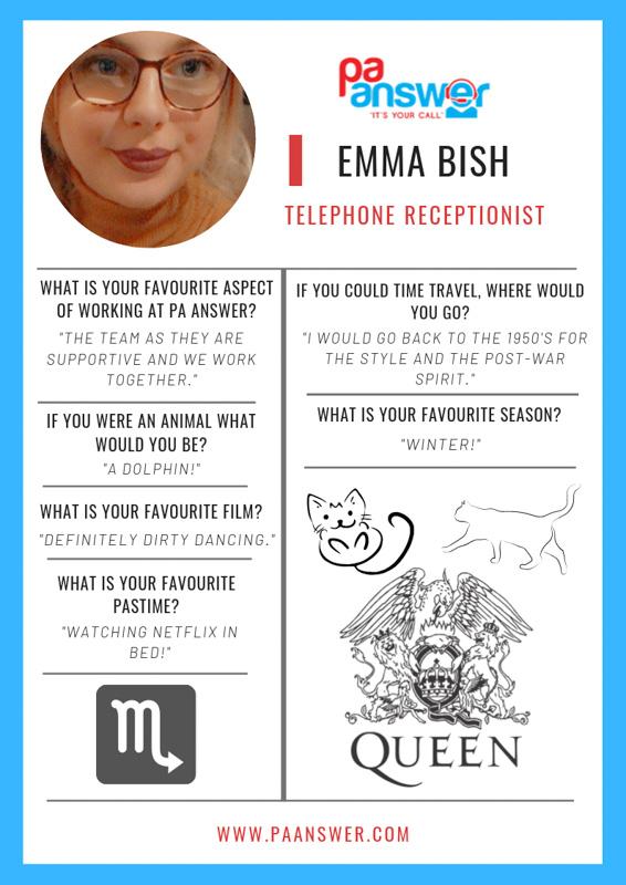 Emma PA Answer Virtual Reception Team
